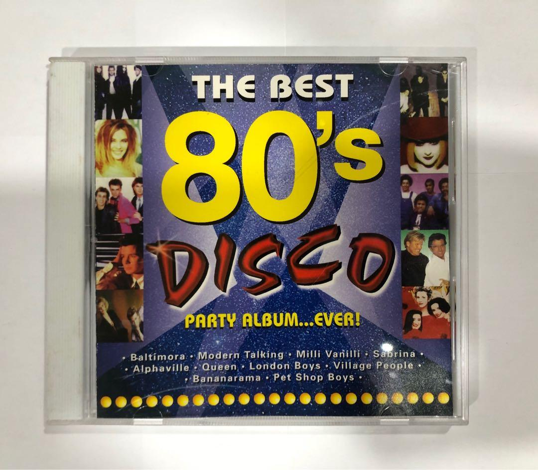 The Best 80s Disco Hits Party Album Ever! Music CD Mix Album