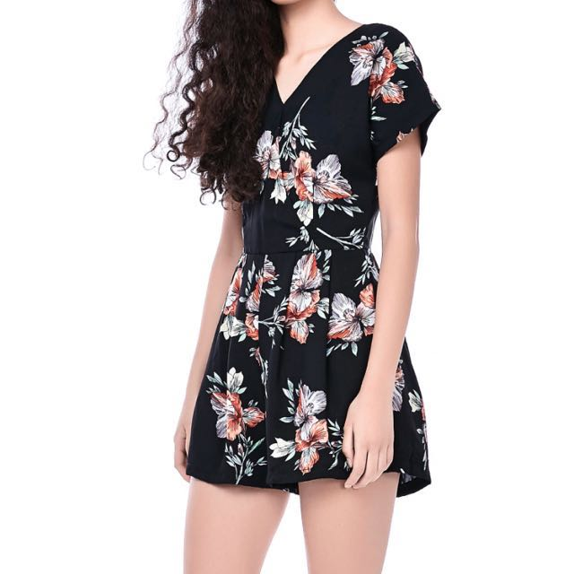 22839b02d12 The editor s market floral romper