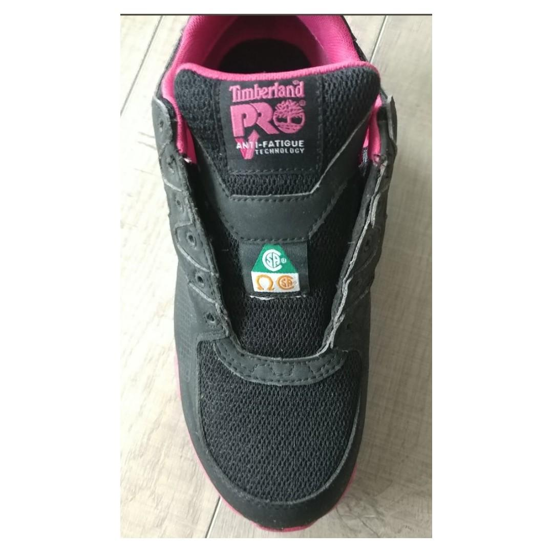 Timberland PRO Women's Powertrain Alloy-Toe Industrial Shoes 8.5