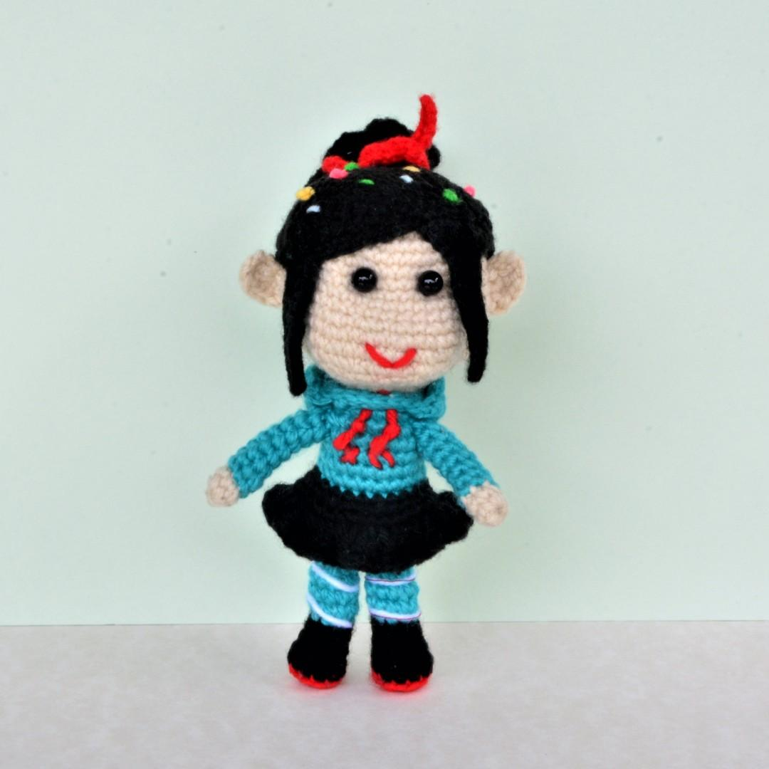 Vanellope von Schweetz Crochet Amigurumi - From Disney's Wreck-It Ralph
