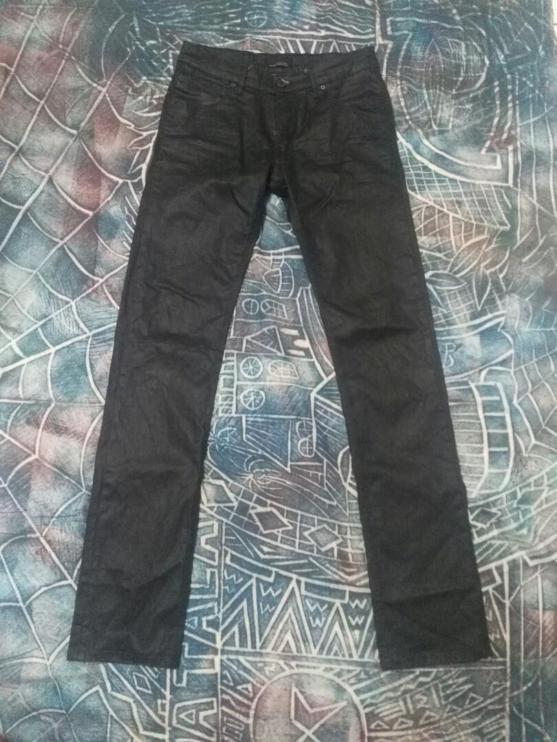 359164fd Zara Man black tag jeans slim fit, Men's Fashion, Clothes, Bottoms ...