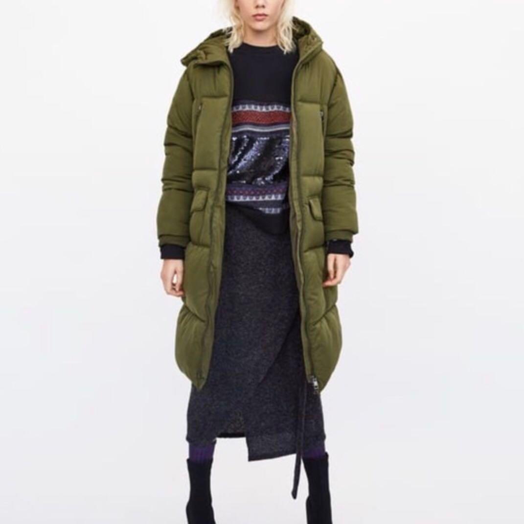 80d7b46b ZARA TRF Winter Jacket, Women's Fashion, Clothes, Outerwear on Carousell