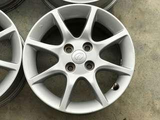 Rim Perodua 15 inch vios city almera myvi alza bezza