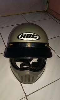 Helm hbc warna grey