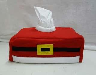 Christmad Tissue Cover