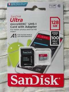 Sandisk Memory Card Original Class 10 compatible in all gadget units