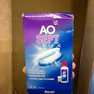 AO Sept contact solution 隱形眼鏡藥水