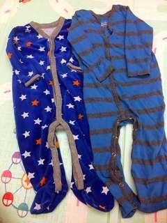 🚚 《9M》2件/$300 GAP+mamaway 嬰兒連身衣