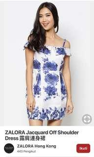 Zalora porcelain dress