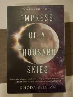 Empress of a Thousand Skies by Rhoda Belleza (Paperback)
