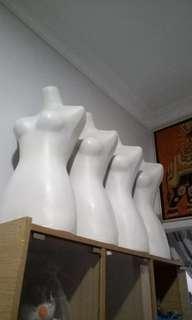 Manekin Patung Badan Setengah Body Tanpa Tiang