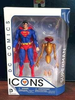 DC Icons Superman Original Classic Suit by DC Collectibles