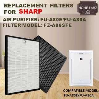 Sharp FU-A80E/FUA80A Compatible Replacement Filter