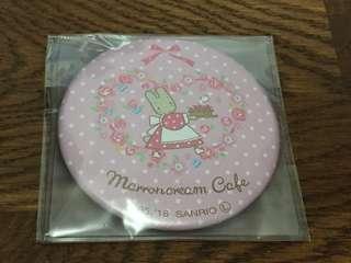 Sanrio Marron Cream Cafe 限定 圓鏡