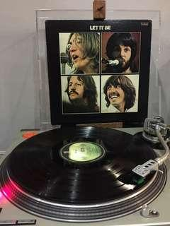 🚚 Beatles Let It Be Vinyl LP