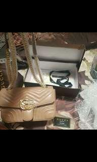 Gucci GG marmont with box