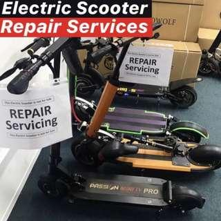 Electric scooter repair