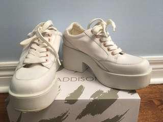 Vagabound - white platform shoes size 38