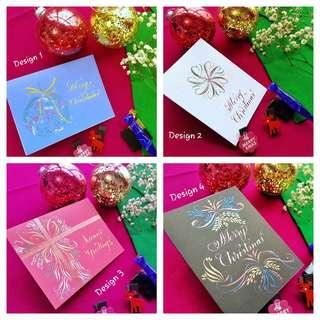 🚚 Calligraphy Greeting Cards
