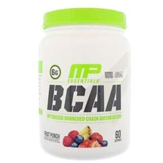 MusclePharm, BCAA Essentials, Fruit Punch, 1.14 lbs (516 g) SAVE SALE
