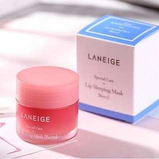 ☘️2 for $27.90 Mailed!🍓Laneige Berry Lip Mask 20g+20g