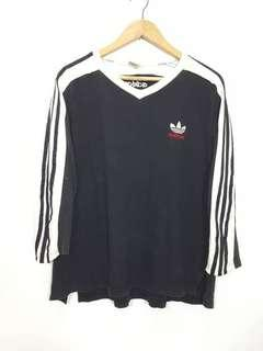 ICONIC 90s Vintage Triple Line Adidas Made in Usa Size L