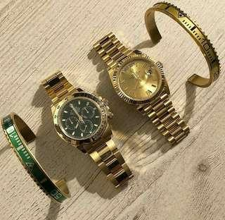Gold rolexs