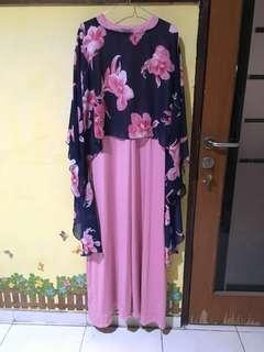Gamis plus outer bagus