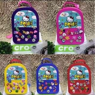 Authentic crocs backpack