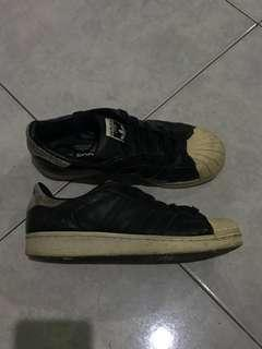 ADIDAS SUPERSTAR WITH LEOPARD PRINT