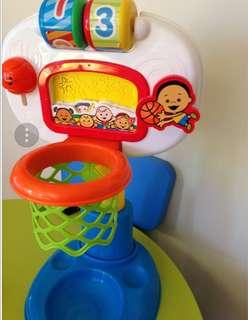 Fisher Price Activity Basketball Hoop Toy