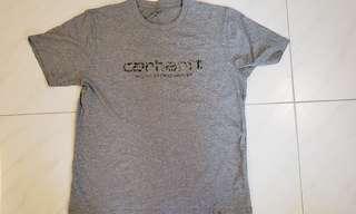 Carhartt 迷彩logo tee