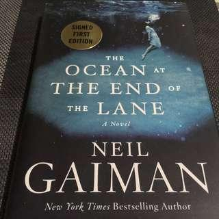 The Ocean at The End of The Lane (signed 1st ed)