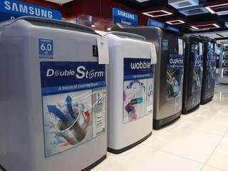 Samsung Topload Washers (sizes in description)