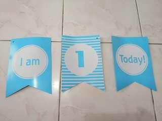 I am One Today Banner