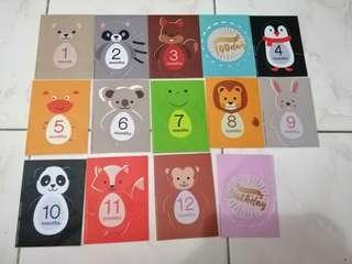 Baby Growth Record Stickers