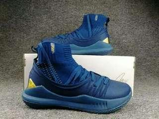 Curry 5 high cut basketball shoes
