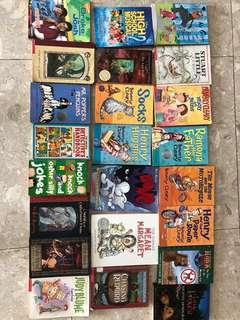 [Reduced prices!] Selling Children's books(Beverly clearly, Ramona, Judy Blume, Mr Popper's Penguins, High School Musical, Drake and Josh, Mr Gum and the Biscuit Billionaire, Stuart Little, The last battle, Judy Moody, Mean Margaret, Chasing Redbird)