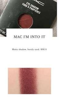 Mac matte eyeshadow single