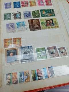 香港郵票 古董 散票 60,70,80s