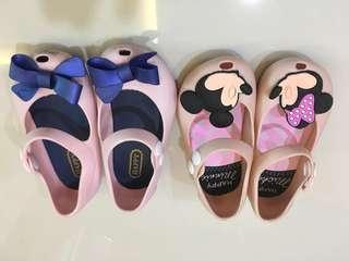 Baby shoes (Melissa inspired)