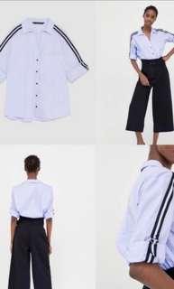 Zara Side Striped shirt