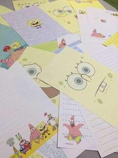 可愛信紙信封一疊
