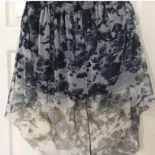 River Island High Low Maxi Skirt