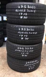 245 35 20/275 30 20 (Rear - sold)Roadstone