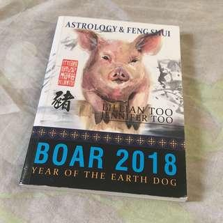 Orig Almost New Lilian Too (WOFS)Boar 2018 book