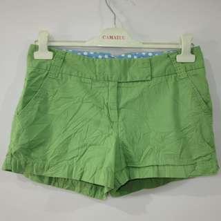 (30) J.Crew ladies low rise twill shorts