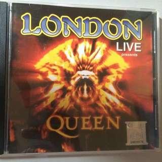 Original Queen Live In London Album