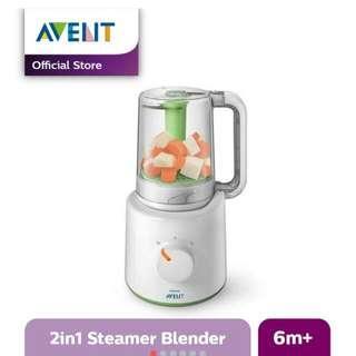Philips Avent Steamer Blender 2in1