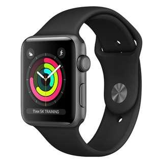 Apple Watch Series 3, Cellular + GPS, 42mm, Gray, BNIB, Warranty until 5 Aug 2019